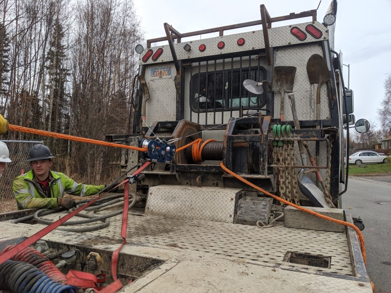 Straightpoint's Bluetooth CableSafe at Wastewater Project