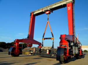 SP Load Cell Tests Shuttlelift Mobile Gantry Cranes