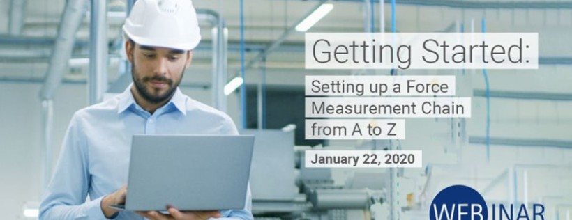 HBM Webinar - Learn How to Set Up a Force Measurement Chain