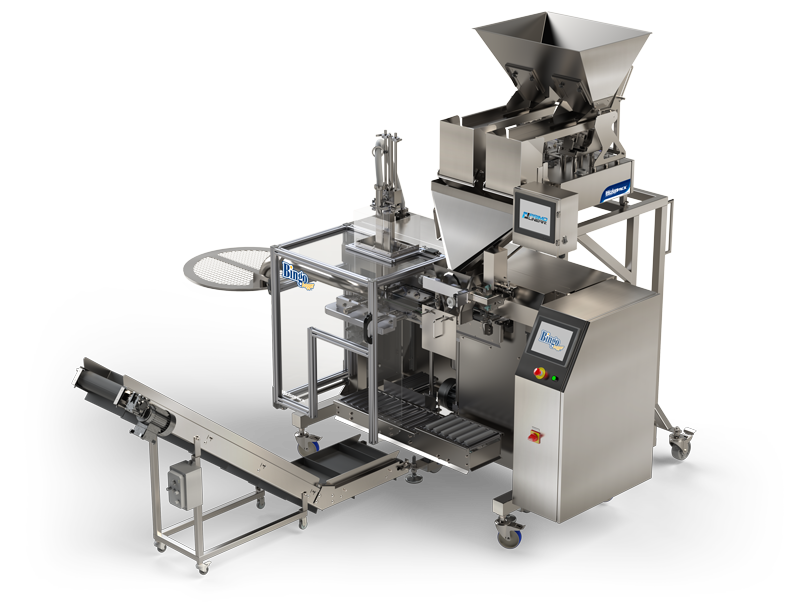 WeighPack introduces food service Weigh Filling and Vacuum Packaging Machine