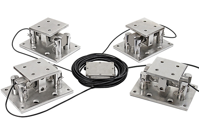 Cardinal Scale's Heavy-Capacity CenterPoint DB-SP Series Tank/Hopper Weighing Load Cell Kits