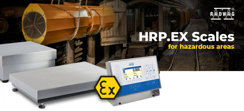 RADWAG High Resolution Platforms with ATEX Certificate