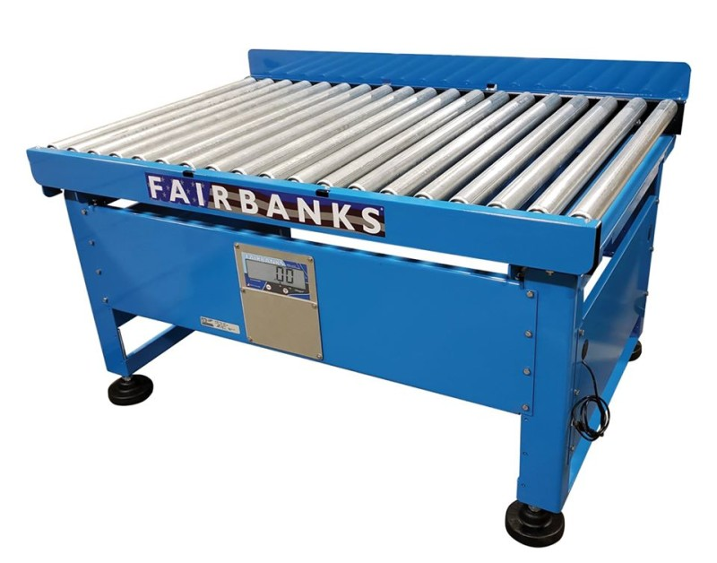 Fairbanks Scales' New Roller Conveyor Scale