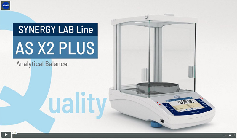 Video Presenting the New RADWAG AS X2 PLUS Analytical Balance