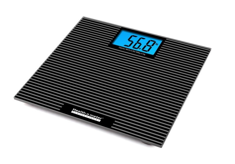 New Healthometer 810KL Digital Glass Scale with Anti-slip Tread & Backlight