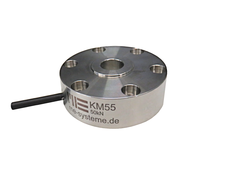 New Load Cell KM55 with inner thread M10 by ME-Meßsysteme GmbH