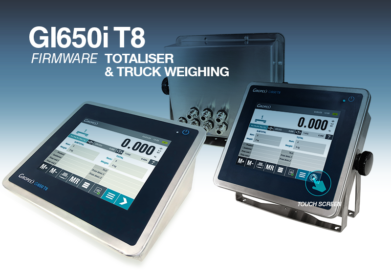 GI650 T8, the new touch screen Indicator from Giropes