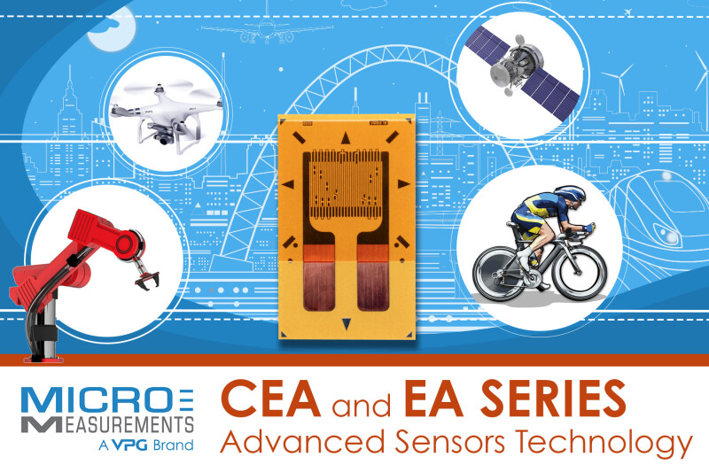 Micro-Measurements Releases Advanced Sensors Technology CEA and EA - Good News for Strain Gage Users