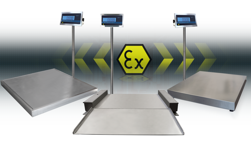 Giropes launches a new range of Scales for ATEX zones