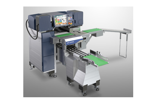 New Digi Europe AW-5600ATII Auto-Infeed is high-performance automatic weigh-wrap-label solution