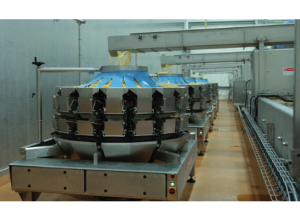 Bergia-Frites relies on MULTIPOND multihead weigher for weighing their potato specialties