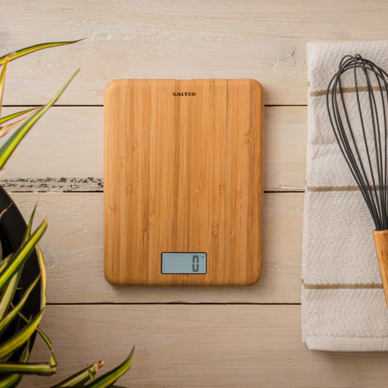 New Rechargeable Kitchen Scale from Salter