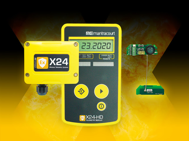 Mantracourt launches a unique Wireless, Telemetry Sensor system for hazardous areas
