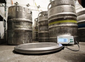 The brand new Marsden Keg Scale
