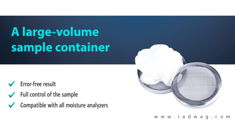 Do you need to determine the moisture content of a sample, which increases its volume during the drying process?