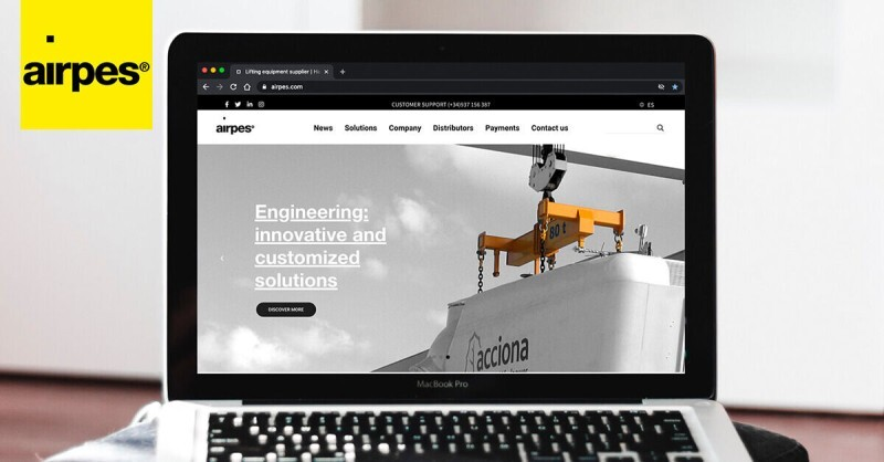Airpes launched a new and more intuitive Website
