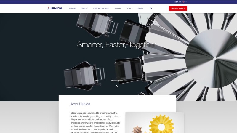 Ishida Europe's New Website supports 6 more Languages