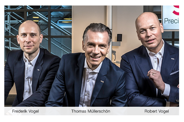 seca management team restructured and Thomas Müllerschön brought on board as CEO Finance & Performance