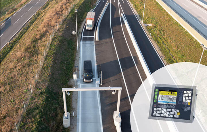 Milestone in Dynamic Truck Weighing with SysTec Weight Indicators