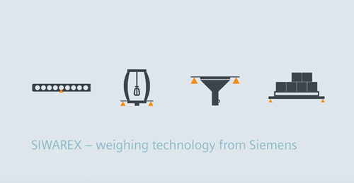 New Video from Siemens shows the advantages of SIWAREX Weighing Technology in the SIMATIC environment