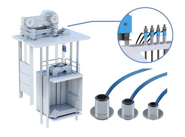 Universal Load Measurement for Elevators by X-SENSORS AG