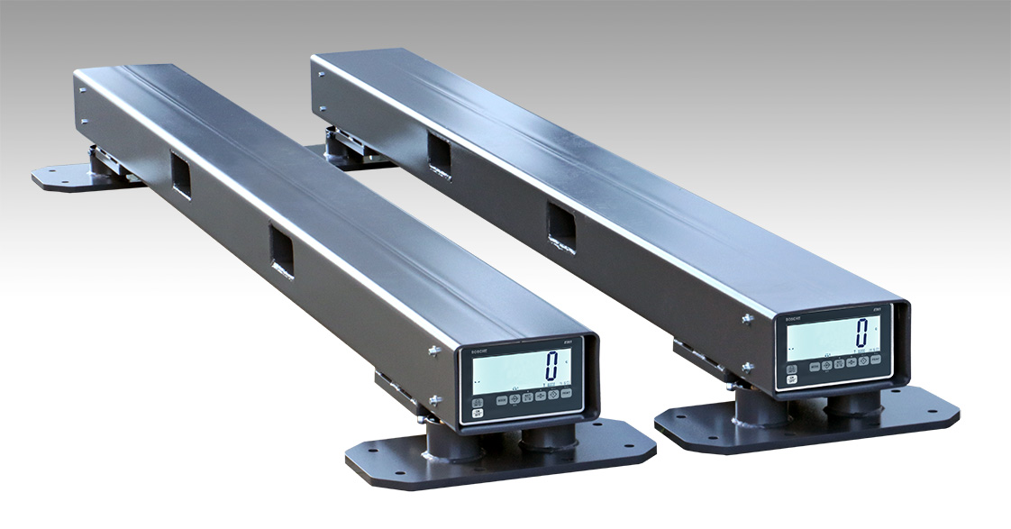 Bosche's Container Weighing Beam DUO with integrated display helps you to comply with the new SOLAS regulations