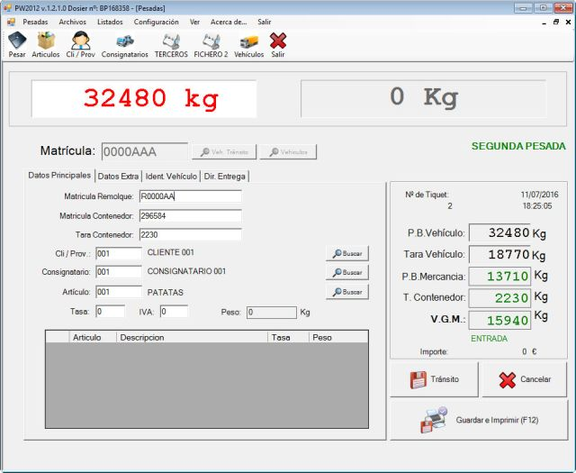BACSA's New Software for Weighing Containers according to SOLAS Regulation