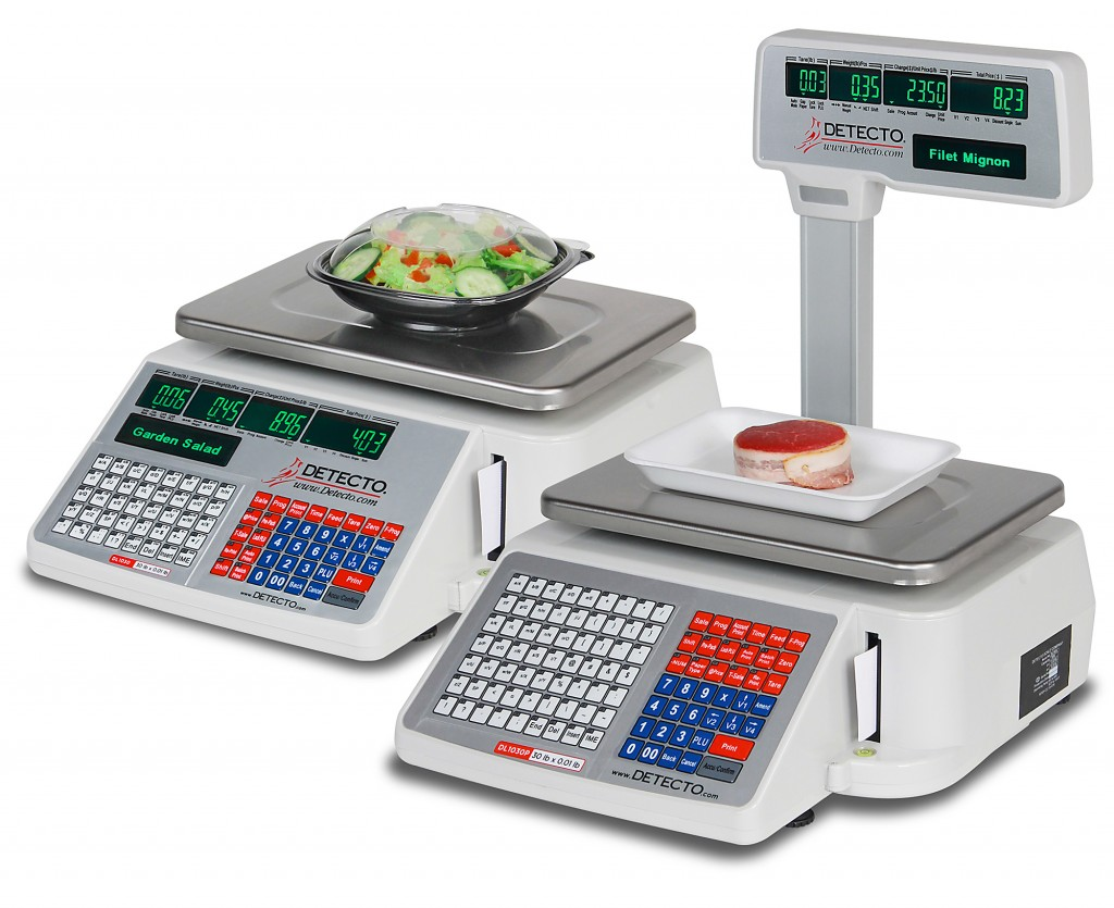 Detecto Scale's New Price Computing Scales with Integral Printers