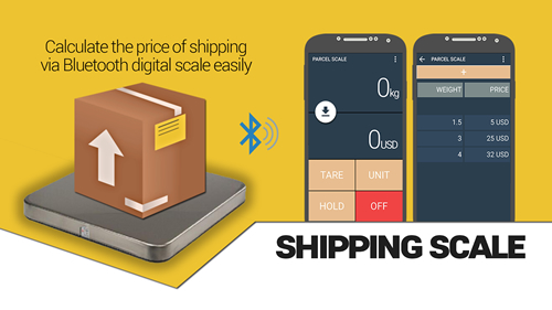EXCELL Announces Launch of Bluetooth Shipping Scale