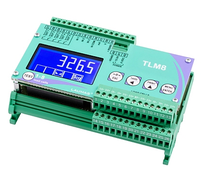 New TLM8 Multi-channel Weight Transmitters from Laumas Elettronica