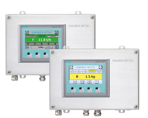 New SIWAREX WT231 and WT241 Weighing Terminals from Siemens