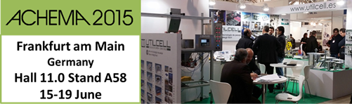 UTILCELL will be attending ACHEMA 2015