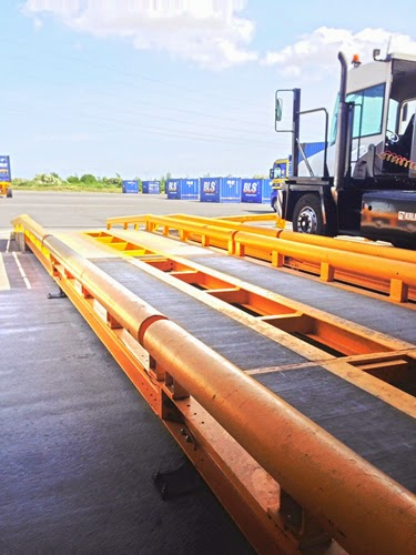 Heavy Weight Double Life Weighbridge's from Libra to Napier Brown's new factory