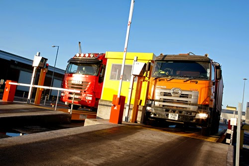 Weightron's Eurodeck Weighbridges play vital role in biomass transportation at King George Dock in Hull