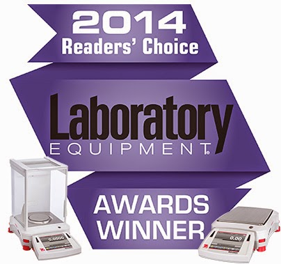 "OHAUS Explorer Voted ""Best Balance"" in Laboratory Equipment's 2014 Readers' Choice Awards"