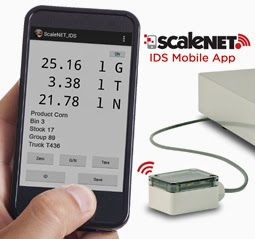 Cardinal Scale's New ScaleNET IDS Mobile App Weight Display with 5 Custom IDS