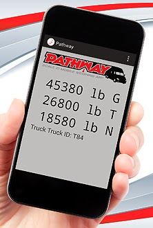 New Pathway Mobile App for Truck Weighing
