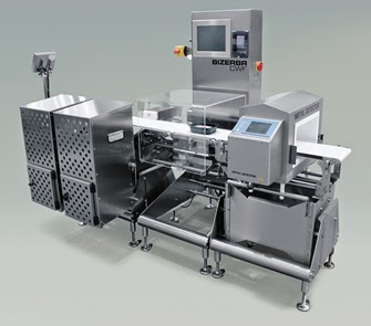 Accurate down to the gram - The Bizerba CWF check-weigher featuring an integrated Varicon metal detector makes quality assurance easier