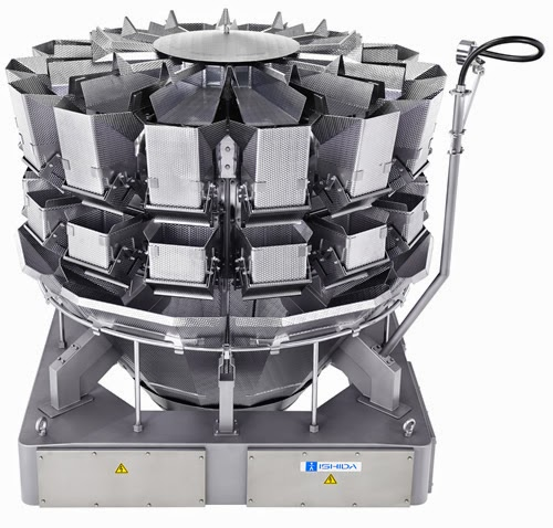 Ishida takes hygiene to the highest level with their RV WP Series Multihead Weighers