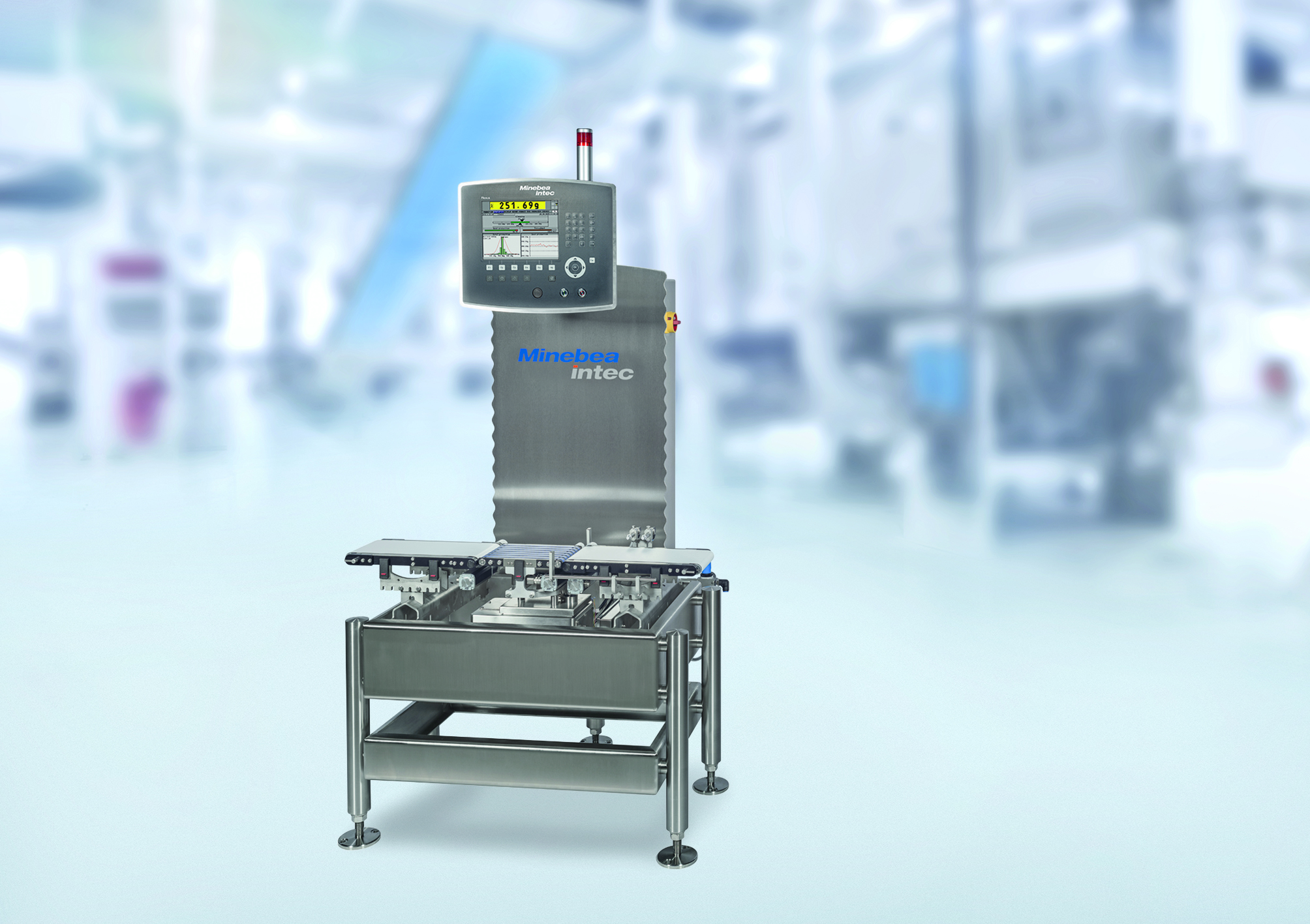 Minebea Intec Checkweigher Flexus®