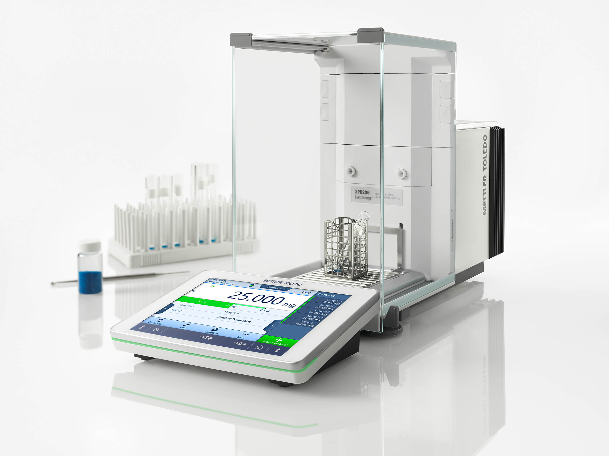 METTLER TOLEDO XPR Analytical Balance - No Compromise With Your Precious Samples